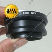 Adapter Lensa Canon EOS EF To Ke Untuk Kamera Sony Nex E Mount Mirro