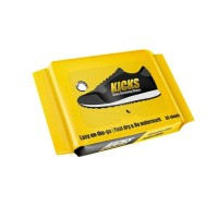 Kicks Wipes 30 Sheets Cleaning Kit For Sneakers