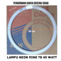 LAMPU NEON RING T8 40 watt CHIYODA
