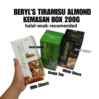 BERYLS TIRAMISU ALMOND BOX 200GR