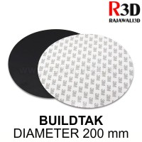 3D printer Buildtak D 200mm Print Build Tape Heatbed Sticker