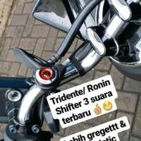 Shifter set untuk Knalpot Racing 3 suara 3Tech Tridente Ronin