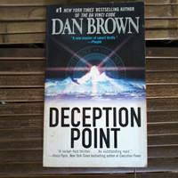 Novel Impor Dan Brown | Deception Point | English