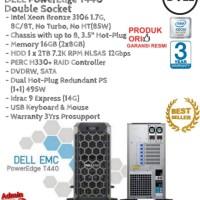 DELL Server T440 Intel Xeon Bronze 3106 Double Socket TowerSeries