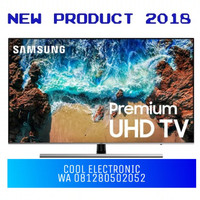 TV SAMSUNG 55 INCH SMART TV FLAT PREMIUM ULTRA HD 4K UHD 55 NU8000