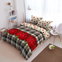 Kintakun Bed Cover D'luxe - 180 x 200 (King) - Blooming
