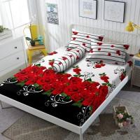 Kintakun Sprei D'luxe - 180 x 200 B2 (King) - Roseline