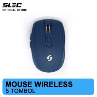 Mouse Wireless SLEC NC20 - BLUE