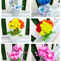 Pajangan Vas / Pot Bunga Cantik Handmade Ukuran kecil, Souvenir,Hadi