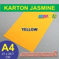 Kertas Karton Jasmine / Paper Flower A4 YELLOW - KUNING