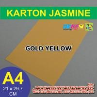 Kertas Karton Jasmine / Paper Flower A4 GOLD YELLOW KUNING EMAS