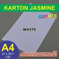 Kertas Karton Jasmine / Paper Flower A4 WHITE PUTIH 190 GSM