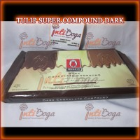 TULIP DARK COKLAT / CHOCOLATE COMPOUND 1 KG