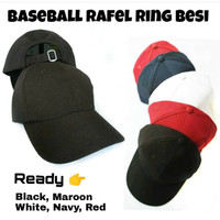 7547165a75e3d Topi Baseball Polos Rafel