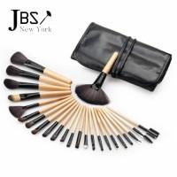 JBS New York Kuas Makeup isi 24 Brush Make up Set 24 pcs Coklat K001
