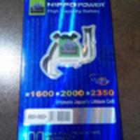 Baterai Hippo Double Power Blackberry JM1 - 2000mAh (Dakota / Monza)