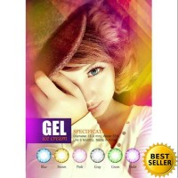 SOFTLENS GEL ICE CREAM 6 BULAN SOFT LENS GEL ICE CREAM DIA 16 MM