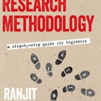 Research Methodology:A Step-By-Step Guide for Beginners -Ranjit Kumar