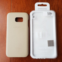 Samsung Leather Cover Galaxy S7 Edge Original Second
