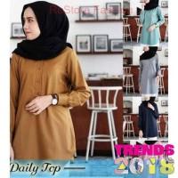 Termurah !!! Azurra Shop Gamis Denim Le Couture Baju Muslim Wanita