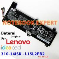 Baterai Original LENOVO IDEAPAD 310-14ISK L15L2PB2 L15L2PB4 L15M2PB2