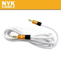 "NYK Jack 3.5"" to Jack 3.5"" Gold Plate"