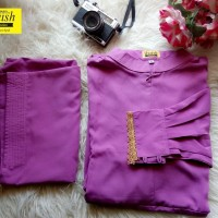 Harga gamis set ukuran s khimar plus cadar banana pakaian akhwat   Pembandingharga.com