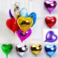 Balon Love & Star