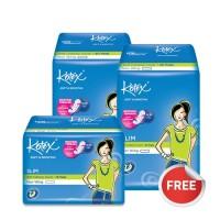 Buy 2 Get 1 Free - Kotex Soft & Smooth Slim Non Wing (20 pcs)