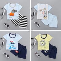 Import Spuerseller Summer Boy Girl Short Sleeve Cartoon Print T shirt