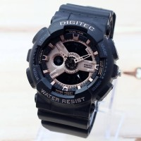 Jam Tangan Digitec DG 2020T Original Black Gold