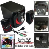 SALE! ADVANCE M250BT SPEAKER AKTIF ACTIVE BLUETOOTH FM RADIO USB SD