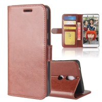 Flip Case Leather Slot Card Stand Premium Cover Case Casing HP Nokia 7