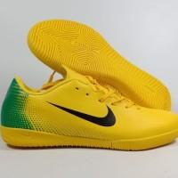 Sepatu Futsal Nike Mercurial Vapor XII Academy Yellow Green - IC