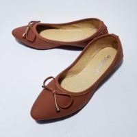 Sepatu Flat Shoes Balet Wanita Gratica KH38 Bata / Termurah Terlaris