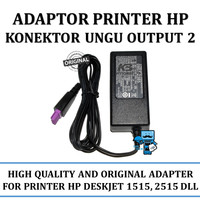 Adaptor Printer HP Deskjet 1515 2515 2545 4515, Konektor Ungu Output 2