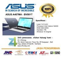 Laptop Asus Dual Core 4GB 1TB Asus A407MA-BV001T Silver Murah Denpasar