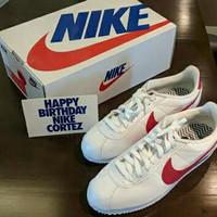 Nike Classic Cortez SE Happy Birthday Sepatu Sneakers Pria Wanita
