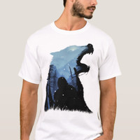 Tees Jon Snow - King of The North (Designed By Shiron)