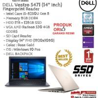 DELL Vostro 5471 Intel Core i5-8250U/8GB/1TB+128GB SSD/VGA/Win10Pro