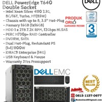 DELL Server T640 Intel Xeon Silver 4110 Double Socket TowerSeries