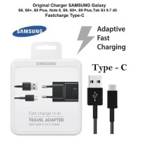 FAST CHARGER SAMSUNG S9+ Note8 A8 A5 2018 KABEL USB C TAB S3 ORIGINAL