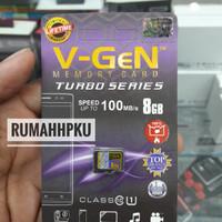 Kartu memory micro SD V-Gen 8gb Original