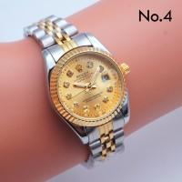 Jam Tangan Wanita Rolex Rantai untuk kado hadiah by hargajam