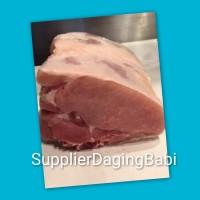 Daging Babi bagian Paha tanpa Kulit 1 kg
