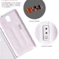 New Casing Penutup Pelindung Samsung Note3 Ponsel Shell Merk Crown