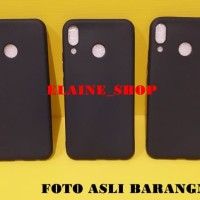 Case Slim Black Matte ASus Zenfone 5 2018 SoftCase Full Black Soft