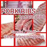 Daging Babi Pork Ribs / Iga Murni