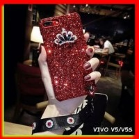 AKSESORIS HP FOR VIVO V5/V5S - GLAM LUXURY CRYSTAL CROWN BLING GLITTER