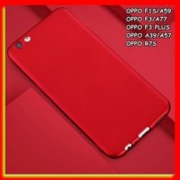 AKSESORIS HP FOR OPPO F3, F1S/A59, A39/A57, F3 PLUS - SOFT SILIKON RED